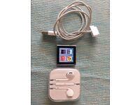 iPod Nano 6th Gen with Apple earpods