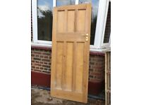 9 x 6 panel pine doors