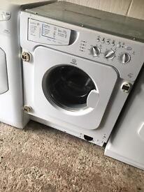 White Indesit Integrated Washing Machine Fully Working Order Just £50 Sittingbourne