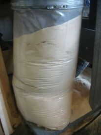 1 ton bags of saw dust FREE Just bring a ton bag and we will fill it