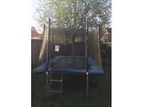 8x12ft Kanga rectangular trampoline