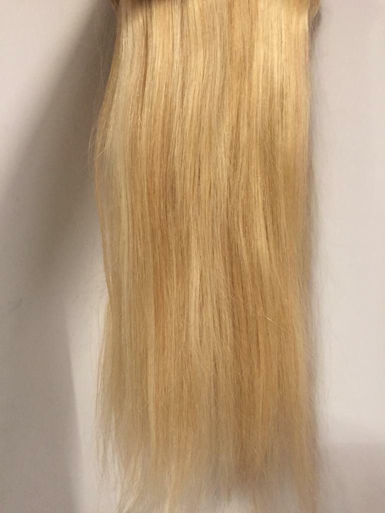Hair Extensions Blonde Real Human Hair In Earby Lancashire Gumtree