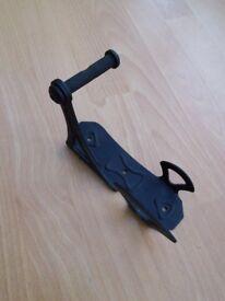 Single bike hook\rack