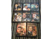 8 James Bond DVDs