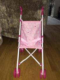 Children's Toy Pink Stroller