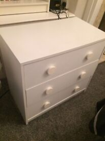 White Chest of Draws