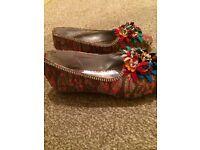 Girls flower sandal