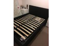 Double side opening storage bed
