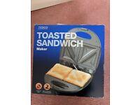 Tesco unused toasted sandwich maker