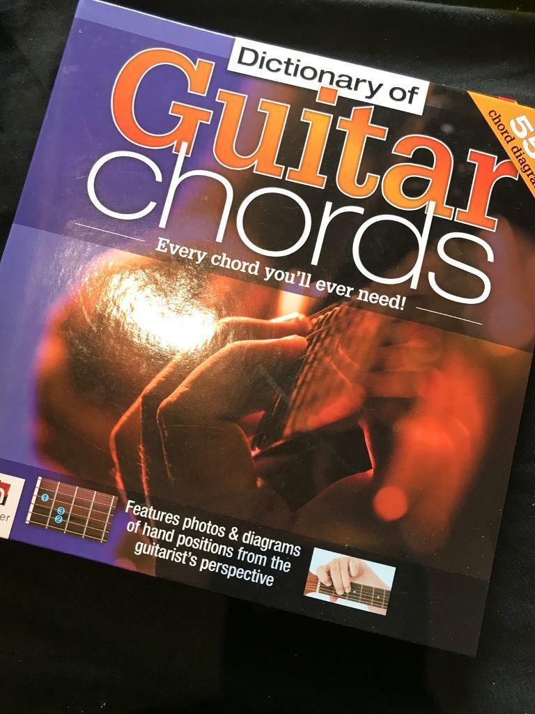Guitar Chord Book In Livingston West Lothian Gumtree How To Read Diagrams Or Stamps