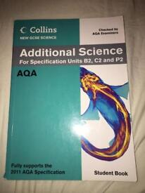 Collins AQA Additional Science Student Book