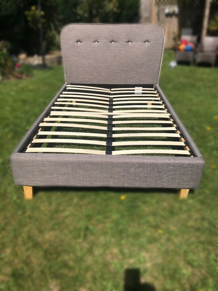 Small double bed frame for sale excellent condition | in ...
