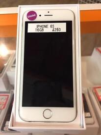 IPhone 6s, 16gb, unlocked