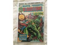 Bloodstone #1 1975 Marvel comic
