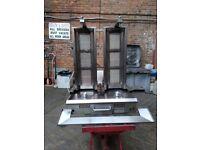 Archway Twin 3 Burner Kebab Machine