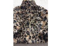 Girls fur jacket