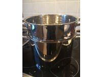 Jean Patrique Stainless Steel large steamer pot