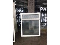 White used upvc window