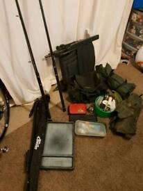 Job Lot of Carp Fishing Gear