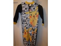 Pokemon Onesie age 5-6 *BRAND NEW* with tags RRP £10.99