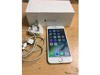 Apple I phone6 gold 64gb unlocked to any network good Fully Working Condition