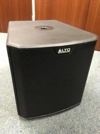Alto TS212S Professional Active Powered Subwoofer Speaker: Sub, Bassbin: Excellent Condition
