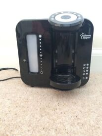 Tommee tippee perfect prep only machine. Only used for 3 months. Perfect condition. Black