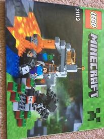 Minecraft Lego - The Cave