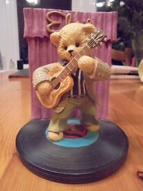 Eight Elvis Presley Teddy Bear Ornaments great condition