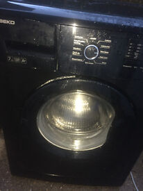 BEKO 7 kg washing machine black color ... free delivery