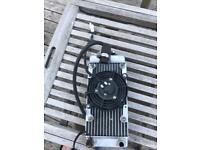 Ajs nc12 radiator and fan