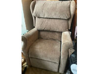 Un-used Nearly New Riser Recliner Armchair