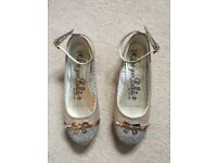 Girls party shoes - size 3