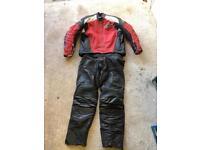 Motorcycle leathers (alpine stars)