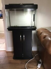 Interpet Fish pod 64 Aquarium and Cabinet Set