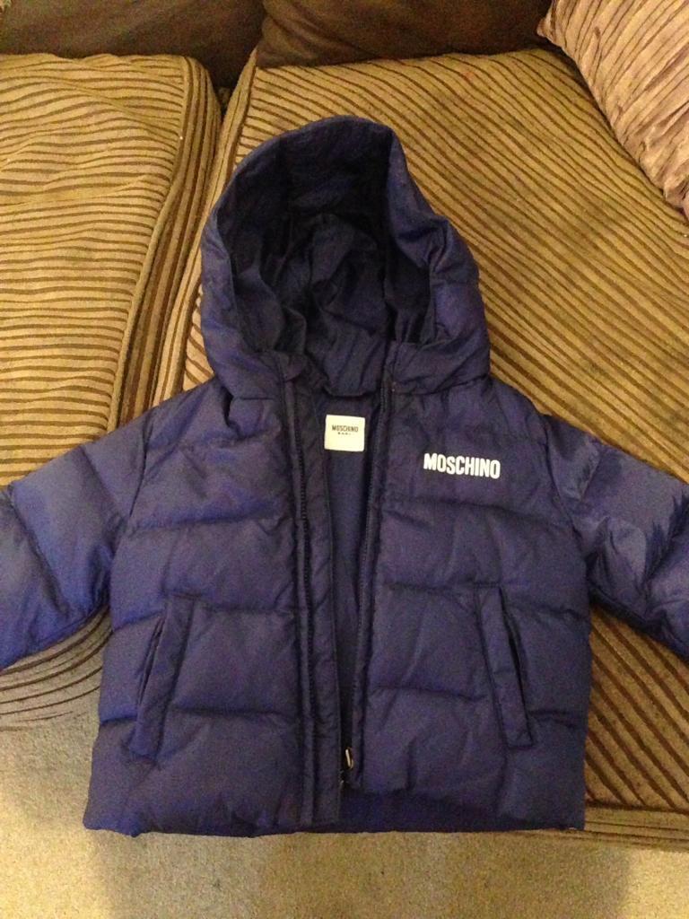 Genuine Baby Moschino coat
