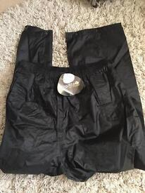Regatta waterproof and windproof trousers