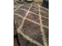 "Geometric design ultra luxurious 5.0""*8.0"" big size Rug. Made in Turkey"