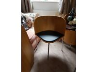 Space Saver Table and Chairs Beech