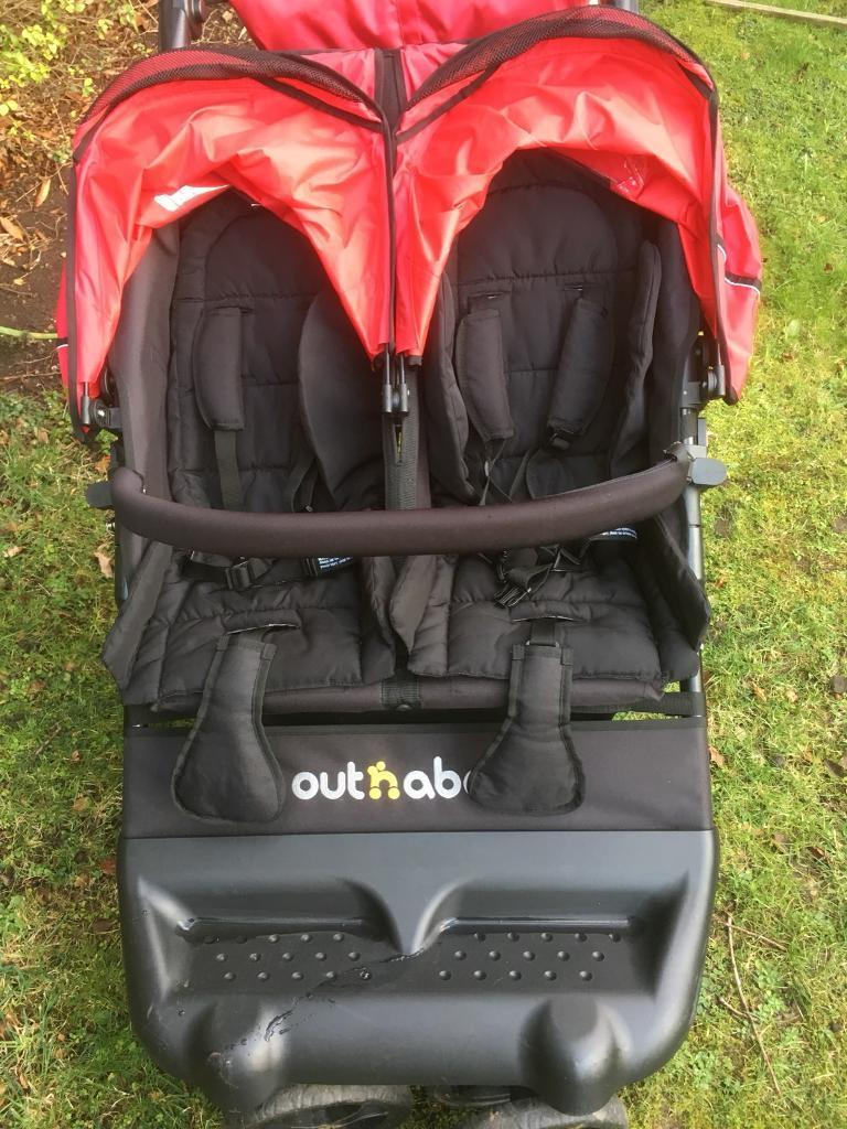 Out and about little nipper double buggy