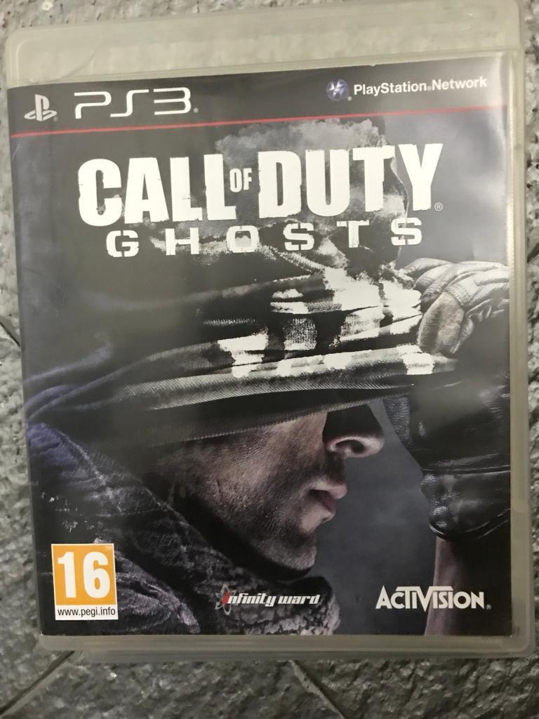 Call of duty ps3 games advanced warfare & ghosts both excellent condition