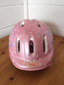 Girls Angelina ballerina bike/scooter helmet