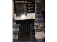 Behringer DJX750 4 Channel Mixer