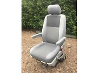 VW T5 Transporter Single Driver Captains Seat Armrests