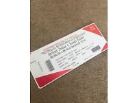 Two Tickets for Anthony Joshua vs Jospeh Parker. Cardiff- 31st March