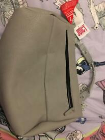 BNWT Juicy couture grey bag