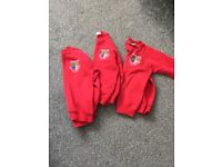 Barnes junior school jumpers x3 7-8