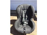 Maxi cosi priori black/ grey car seat VGC