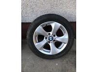ALLOY WHEELS BMW 3 Series 16 Inch Alloy Wheel Rim with Michelin Tyre