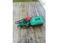 Qualcast 1300W lawnmower and 320W trimmer